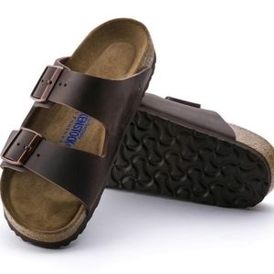 Birkenstock Arizona Habana Leather Sandals 41